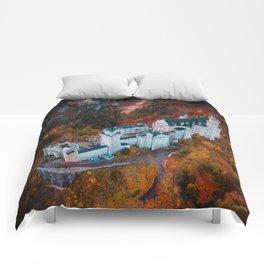 Neuschwanstein Castle in Schwangau, Germany Comforters