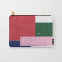 POP ART RED BLUE PINK AND GREEN #minimal #art #design #kirovair #buyart #decor #home Carry-All Pouch