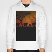 africa Hoodies featuring Africa by Teresa Franks