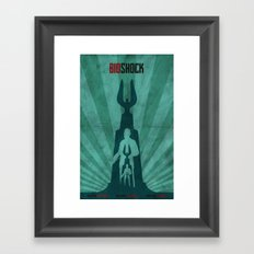 Bioshock - Andrew Ryan and The Lighthouse Framed Art Print