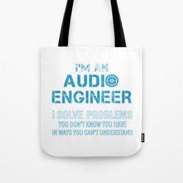 AUDIO ENGINEER Tote Bag