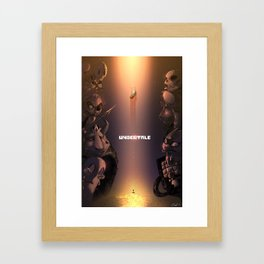 Undertale Framed Art Print