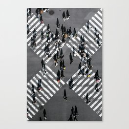 Tokyo Shibuya Crossing Canvas Print