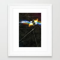 prism Framed Art Prints featuring prism by Halo Jones