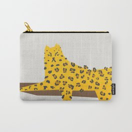 Leopard Lazy Carry-All Pouch