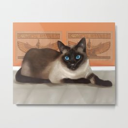 All Cats are Gods Metal Print