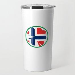 Irish Today Norwegian Tomorrow St Patrick's Day design Travel Mug