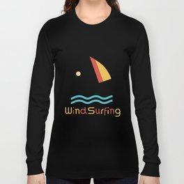 Windsurfing Gift Idea Long Sleeve T-shirt
