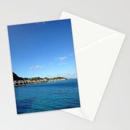Bora Bora Hilton NUI Bungalows Stationery Cards