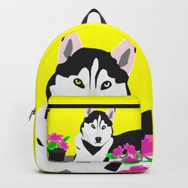 Luke The Husky Backpack
