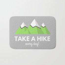 Mountain Take a Hike Bath Mat
