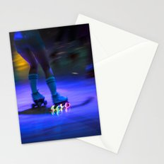 Roller Disco Stationery Cards