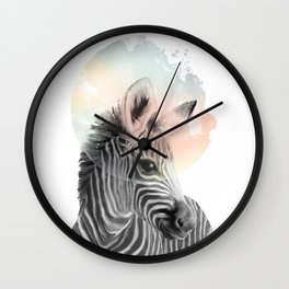 Zebra // Dreaming Wall Clock