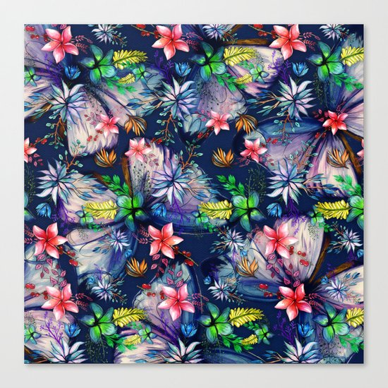 My Tropical Garden 11 Canvas Print