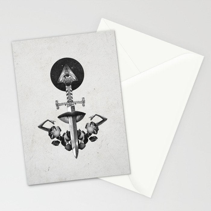 Drawing Down the Moon Stationery Cards