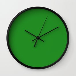 (Forest Green) Wall Clock