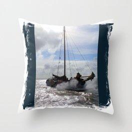 Clipper Throw Pillow