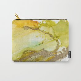 Gold Abstract 3 Carry-All Pouch