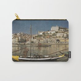 Moody Porto barges on the Douro Carry-All Pouch