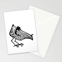 Birdie occupied Stationery Cards