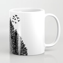 Potted Forest Coffee Mug