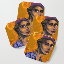 Iris Morales (Young Lords Party Series) Coaster