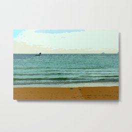 The Scene from the Shore Metal Print