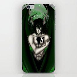 The Cuatro Espada, Ulquiorra iPhone Skin