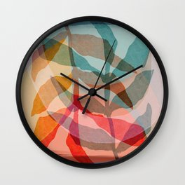 Summer Shadows Wall Clock