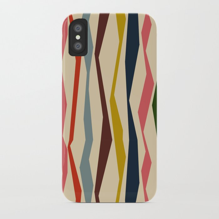 Bloomsbury Stripe iPhone Case