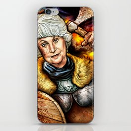 """Picture it: Sicily 1061"" Golden Girls- Bea Arthur iPhone Skin"