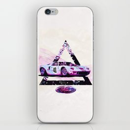 Ford Gt40// Le Mans Race Cars iPhone Skin