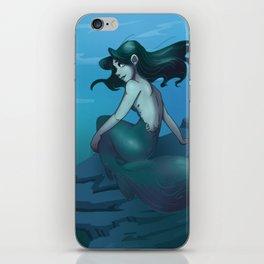 Dark Mermaid iPhone Skin