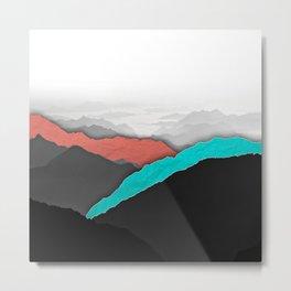 Mountain Highlights Metal Print