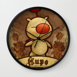 Kupo - Moogle Wall Clock