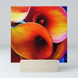 Orange Calla Lillies Mini Art Print