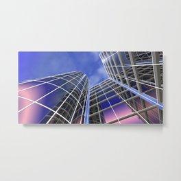 citylines -1- Metal Print