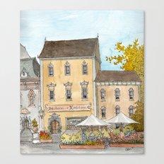 German Bakery Canvas Print