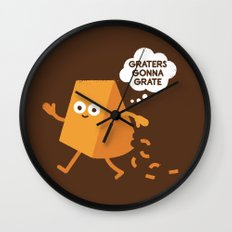 Don't Shred on Me Wall Clock
