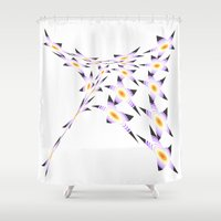blanket Shower Curtains featuring MAGIC BLANKET by Heaven7