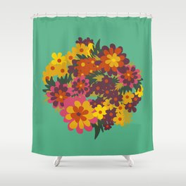 Flowers For Lola Shower Curtain