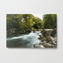 Afon Llugwy Stream Metal Print