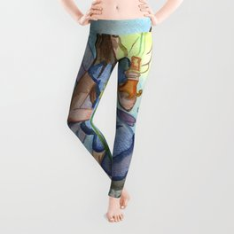 Last Candle (Fairy and the Dragon) Leggings