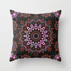 FEZ Moroccan Tiles {4f} Throw Pillow