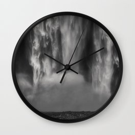 The Treasure Seeker Wall Clock
