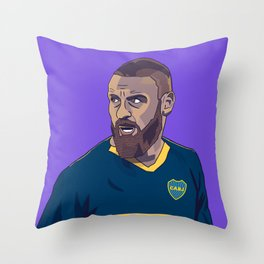 Daniele De Rossi Boca Juniors Throw Pillow