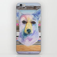 Bear Bust iPhone & iPod Skin