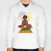 hippie Hoodies featuring Hippie Chick by Kivitasku Designs