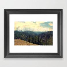 Colorado. Framed Art Print