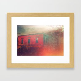 Hollowed Relic Framed Art Print
